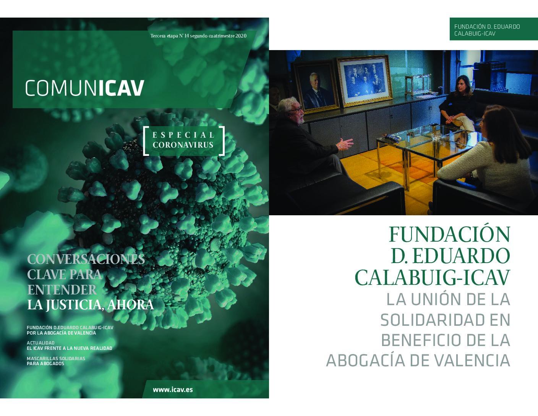 REPORTAJE COMUNICAV: La unión de la solidaridad en beneficio de la abogacía de Valencia
